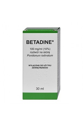 Betadine, 100 mg / ml, dermal solution, 30 ml