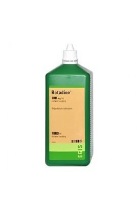 Betadine, 10%, solution for skin, 1000 ml