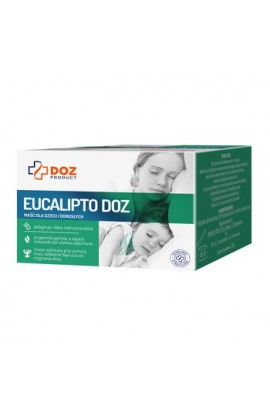DOSE PRODUCT Eucalyptus DOSE, ointment for children and adults, 70 g