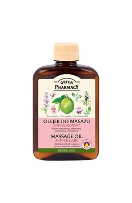 Green Pharmacy, massage oil, anti-cellulite, 200 ml
