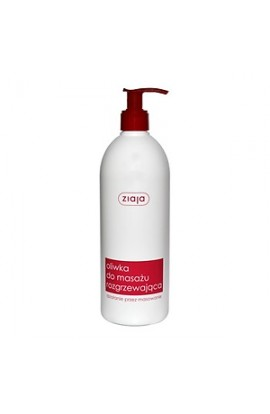 Ziaja, massage oil, warming up, 500 ml