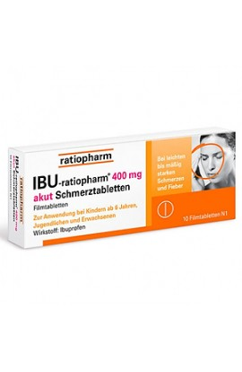 IBU-RATIOPHARM 400 mg akut