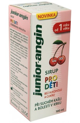 Angina syrup for children, 100 ml