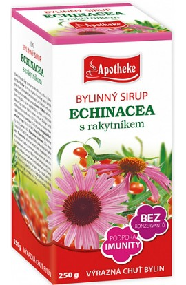 Apotheke, Echinacea Herbal Syrup, 250 g