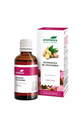 Aromatics, echinacea with ginger drops of grass, 50 ml