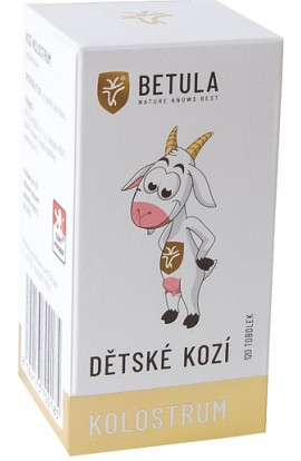 Betula, baby goat colostrum, 120 pcs.