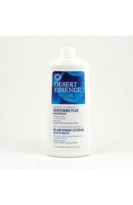 DESERT ESSENCE, MOUTHWASH WHITENING COOL MINT, 480 ML