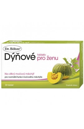 DR. BOHM, Dýňové tablets for women 30 tablets