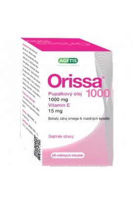AGETIS, ORISSA 1000 evening primrose oil 60 cps