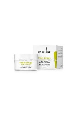 CARELINE Triple Omega Active Day Cream SPF 15 For Normal and Dry Skin 50 ml