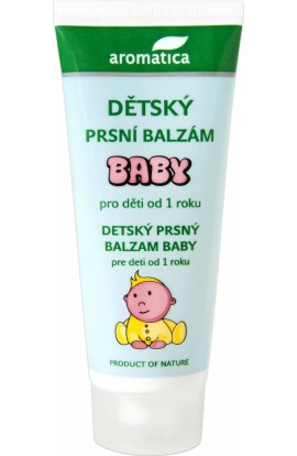 Вaby balzám  from 1 year 40 ml Aromatica