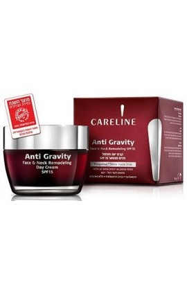 CARELINE Anti Gravity Face & Neck Remodeling Day Cream SPF 15 50ml