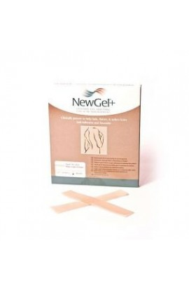 NewGel + Beige stripe in the shape of a strip 2,5 x 15,2 cm 4 pcs