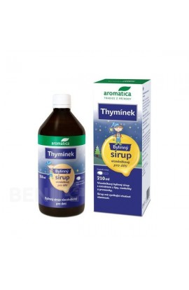 Thymínek herbal syrup from 3 years 210 ml Aromatica