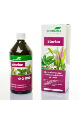 Stevian syrup withstaples  210 ml  Aromatica