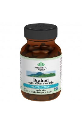 ORGANIC INDIA, Brahmi - for mental balance, 60 PCS