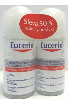 Eucerin roll-on antiperspirant (Anti-Transpirant)  2x 50 ml