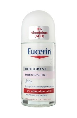Eucerin, deodorant roll-on free of aluminum for sensitive skin 50 ml
