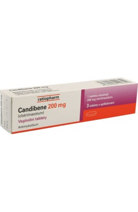 Merckle, Candibene 200mg vag.tbl.3x200mg
