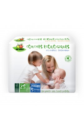 BIO BABBY, BABY DIAPERS JUNIOR 12-25 KG, 28 PCS