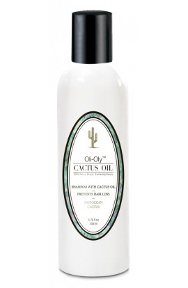 Shampoo for hair With cactus oil 200ml  OLI-OLY