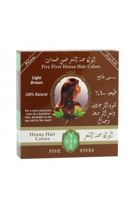 FIVE FIVES, HENNA LAMDA BROWN, 100 GRAMS